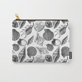 Sea and Ocean Life-Shell Pattern-Mix & Match with Simplicity of life Carry-All Pouch