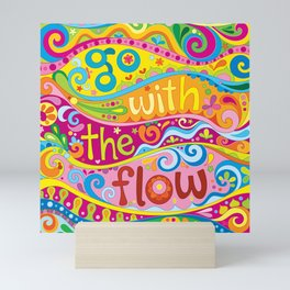 Go with the Flow Mini Art Print