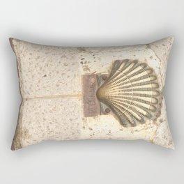 The SHELL. Rectangular Pillow