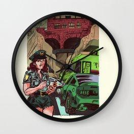 R.I Parking Wall Clock