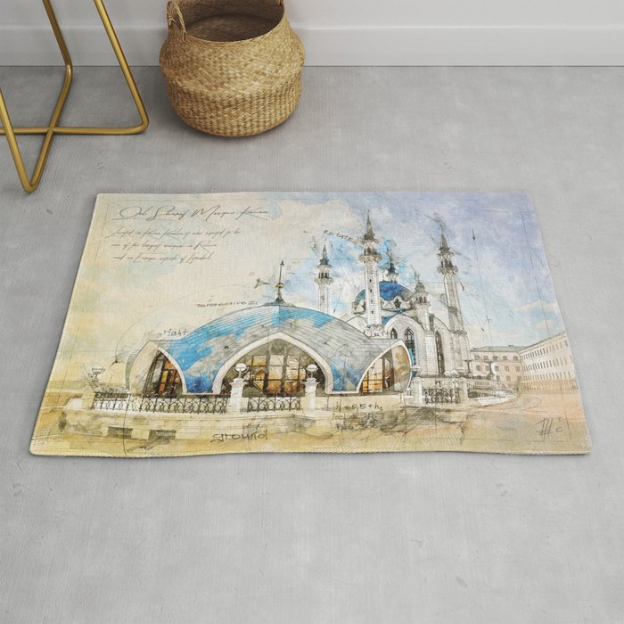 Kul Sharif Mosque, Kazan Rug