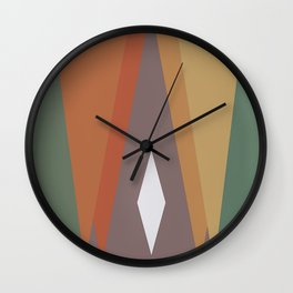 Triangles and Diamond Wall Clock