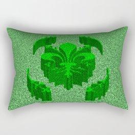 Florentine Green Garden Rectangular Pillow
