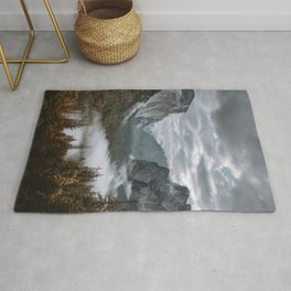 Misty Tunnel View Rug