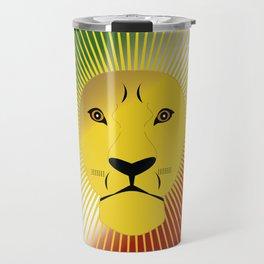Lion And Sun Travel Mug
