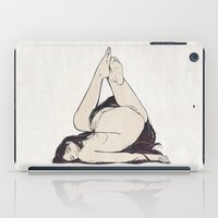 triangle iPad Cases featuring My Simple Figures: The Triangle by Anton Marrast