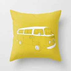 Little Miss Sunshine Throw Pillow