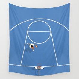 Basketball Art Wall Tapestry