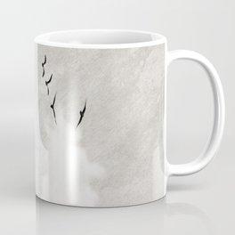 minimal collage /silence Coffee Mug