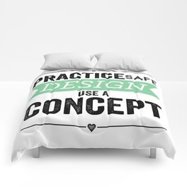 Use a Concept Comforters