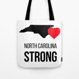 North Carolina strong / Hurricane season Tote Bag