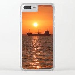 Sunset in Cuba Clear iPhone Case