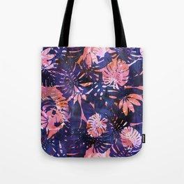 Motuu Tropical Pink & Purple Tote Bag