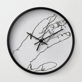 Hand II Wall Clock