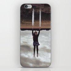 Holding On iPhone & iPod Skin