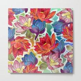 the lotus Metal Print