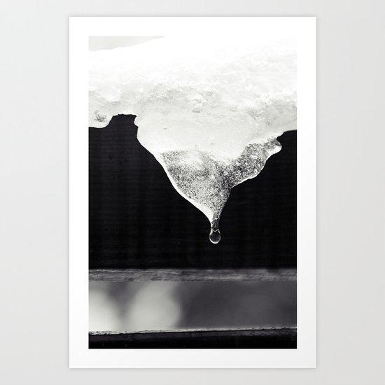 grenzen III Art Print
