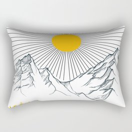 Autumn in the Forest Rectangular Pillow