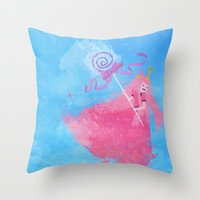science Throw Pillows featuring Science! by Melissa Smith