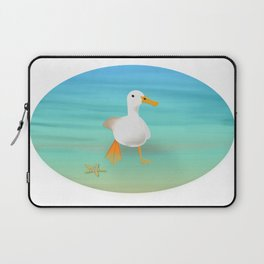 The Paddling Duck at the Se Laptop Sleeve