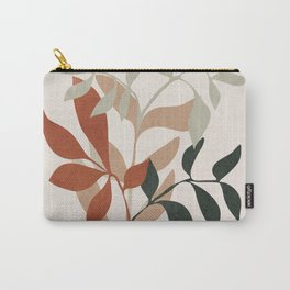 Soft Leaves Carry-All Pouch