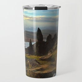 Old Man of Storr, Scotland Travel Mug