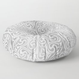 Celtic Warlord silver Floor Pillow