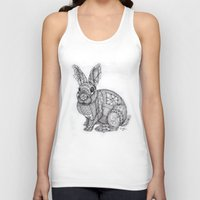 "blush Tank Tops featuring ""Blush Bunny"" by Cindy Lysonski - Creative Daydreamzzzz"