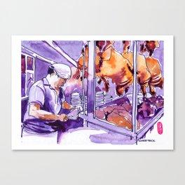 20160903-3 Chicken Rice Food Republic Shaw Canvas Print