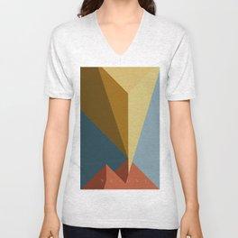 Vesuvio Unisex V-Neck