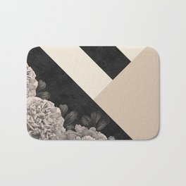 Flowers in sunlight Bath Mat
