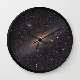 The Andromeda Galaxy Wall Clock