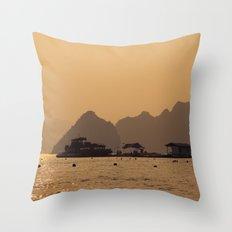 Halong II Throw Pillow