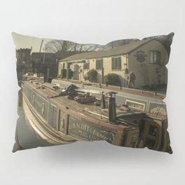 Golden Barges of Stratford Pillow Sham