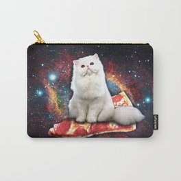 Space cat pizza Carry-All Pouch