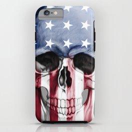 American Skull iPhone Case