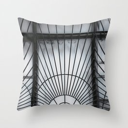 Caged In Throw Pillow