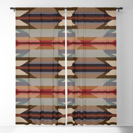 American Native Pattern No. 128 Blackout Curtain