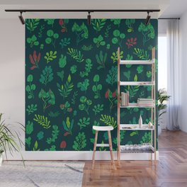Botanical plants Wall Mural
