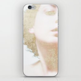Self Portrait in Gold iPhone Skin