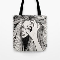 leo Tote Bags featuring Leo by Hanna Viktorsson