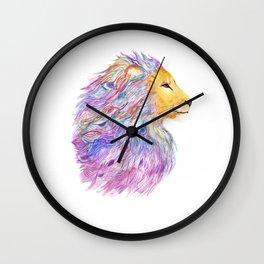 A Roaring Cascade Wall Clock