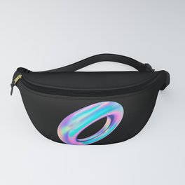 Holographic Donut Fanny Pack
