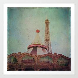 Bohemia of Paris Art Print