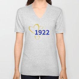 1922 Love Unisex V-Neck