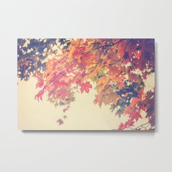 Hello Autumn  Metal Print