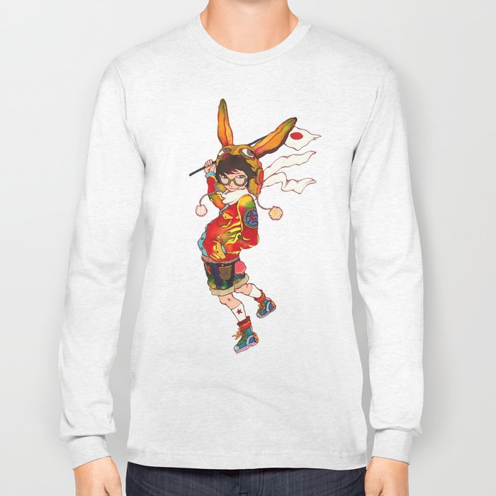 The land of the rising zine Long Sleeve T-shirt