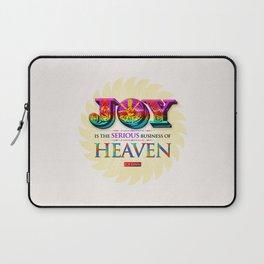 Serious Joy Laptop Sleeve