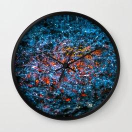 Water Color - Orange Wall Clock
