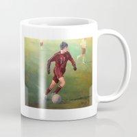 soccer Mugs featuring Soccer by Karen Pettengill